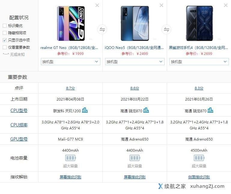 游戏手机买哪个好?电竞品牌手机推荐